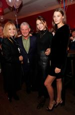 LILY JAMES at Les Miserables Opening Night After-party in London 01/16/82020