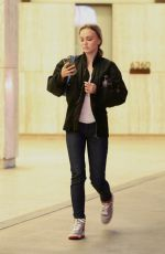 LILY-ROSE DEPP Out and About in Los Angeles 01/03/2020