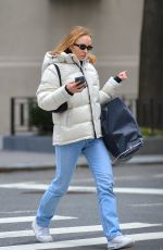 LILY-ROSE DEPP Out and About in New York 01/29/2020