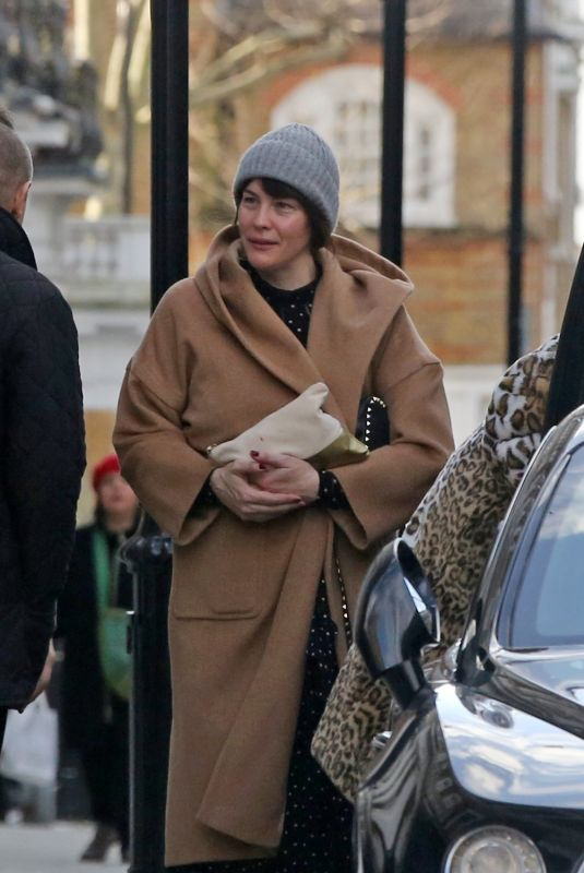 LIV TYLER Out and About in Notting Hill 12/26/2019