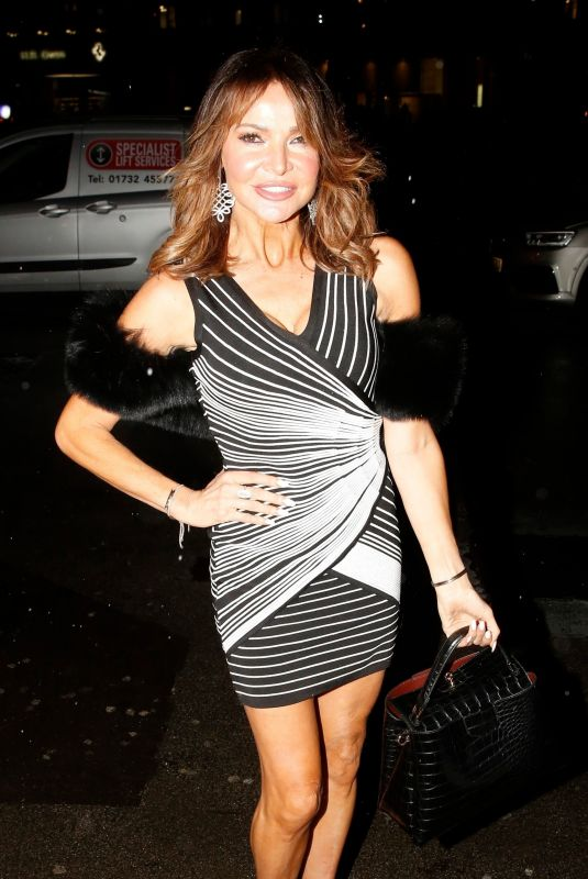 LIZZIE CUNDY at Annabel's in London 01/16/2020