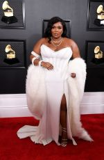 LIZZO at 62nd Annual Grammy Awards in Los Angeles 01/26/2020