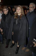 LOUANE EMERA Leaves Jean Paul Gaultier Fashion Show in Paris 07/03/2019