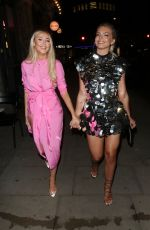 LOUISA JOHNSON at a Birthday Party in London 01/11/2020