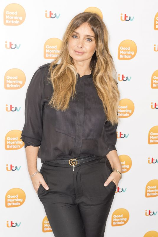 LOUISE REDKNAPP at Good Morning Britain 01/23/2020