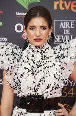 LUCIA JIMENEZ at 34th Goya Cinema Awards 2020 in Madrid 01/25/2020