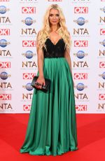 LUCIE DONLAN at National Television Awards 2020 in London 01/28/2020