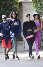 MADISON REED and VICTORIA JUSTICE Out Hiking in Studio City 01/19/2020
