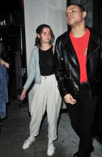 MAIA MITCHELL and Rudy Mancuso at Catch LA in West Hollywood 01/12/2020