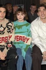 MAISIE WILLIAMS at Charles Jeffrey Loverboy Show at London Fashion Week 01/04/2020