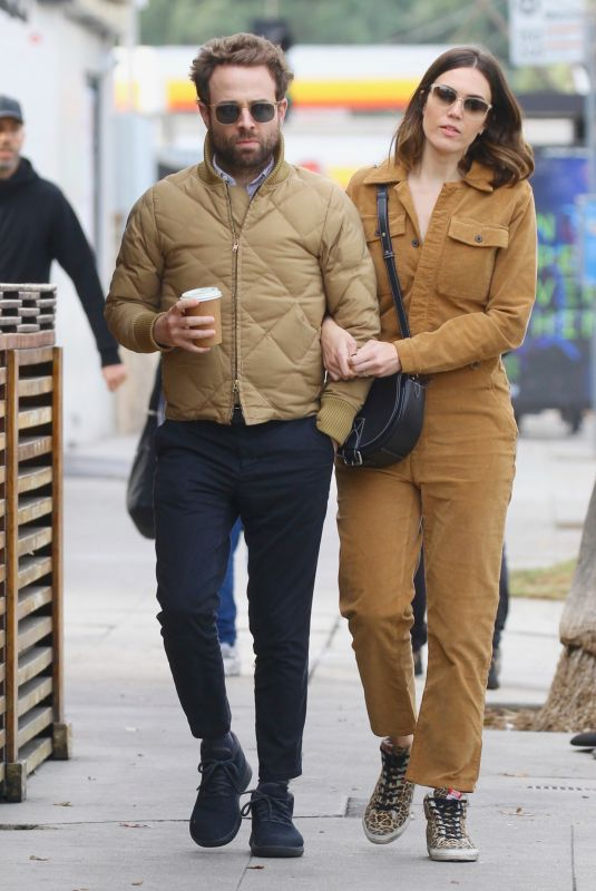 MANDY MOORE and Taylor Goldsmith Out in Los Feliz 01/02/2020