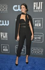 MANDY MOORE at 25th Annual Critics Choice Awards in Santa Monica 01/12/2020