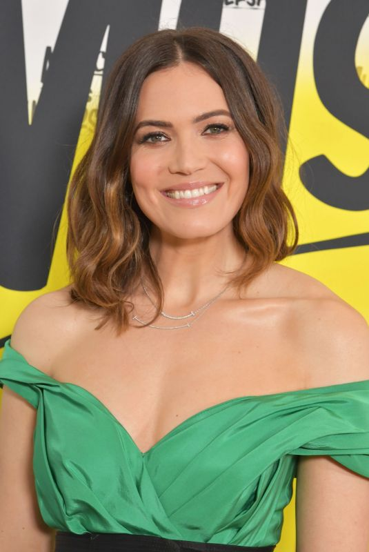 MANDY MOORE at Sir Lucian Grainge's 2020 Artist Showcase in Los Angeles 01/25/2020