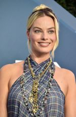 MARGOT ROBBIE at 26th Annual Screen Actors Guild Awards in Los Angeles 01/19/2020