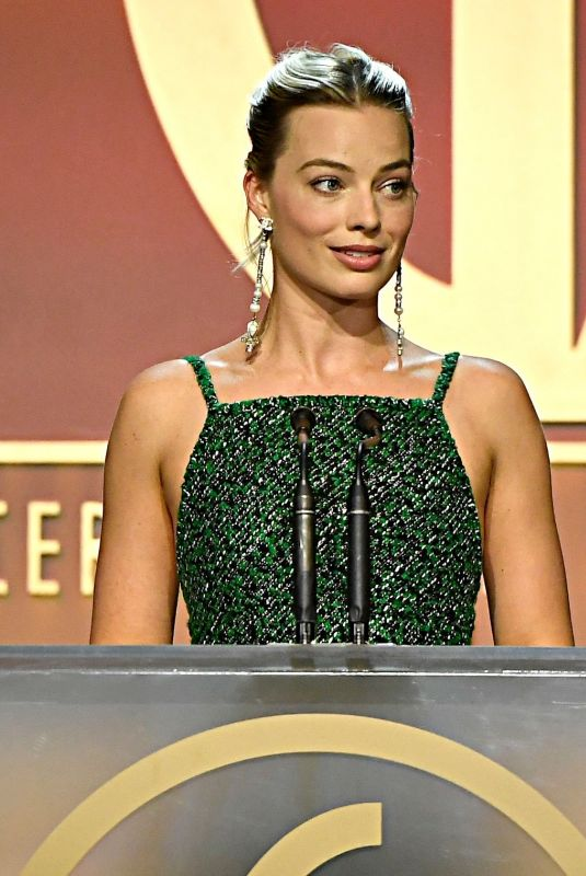 MARGOT ROBBIE at Producers Guild Awards 2020 in Los Angeles 01/18/2020