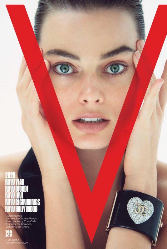 MARGOT ROBBIE for V Magazine, #123 Spring 2020 Preview