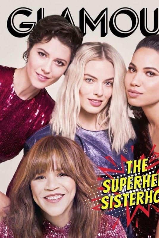 MARGOT ROBBIE, ROSIE PEREZ, JURNEE SMOLLETT-BELL and MARY ELIZABETH WINSTEAD for Glamour Magazine, UK January 2020