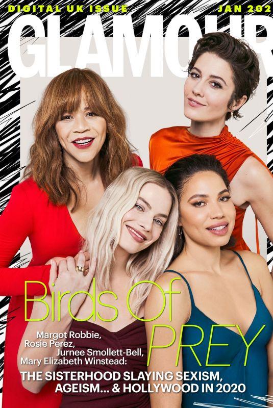 MARGOT ROBBIE, ROSIE PEREZ, JURNEE SMOLLETT-BELL and MARY ELIZABETH WINSTEAD in Glamour Magazine, UK January 2020