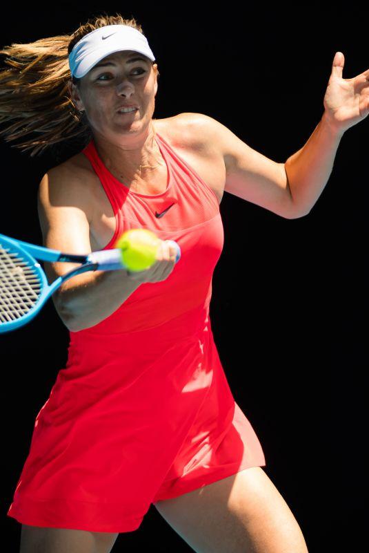 MARIA SHARAPOVA at 2020 Australian Open at Melbourne Park 01/21/2020