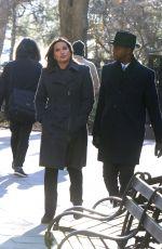 MARISKA HARGITAY on the Set of Law and Erder: Special Victims Unit 01/23/2020