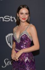 MAUDE APATOW at Instyle and Warner Bros. Golden Globe Awards Party 01/05/2020