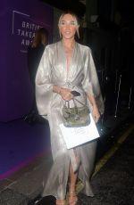 MEGAN MCKENNA Arrives at Takeaway Awards in London 01/27/2020