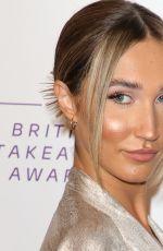 MEGAN MCKENNA at British Takeaway Awards in London 01/27/2020