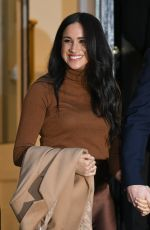 MEGHAN MARKLE at Canada House in London 01/07/2020