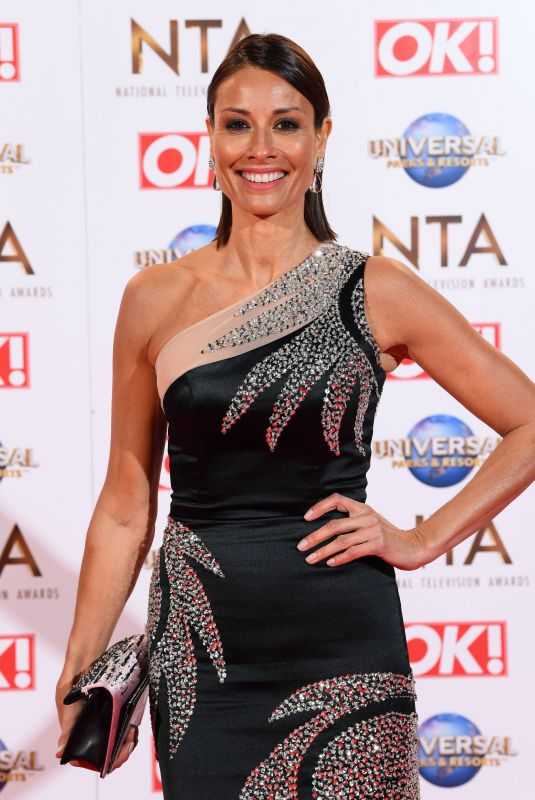MELANIE SYKES at National Television Awards 2020 in London 01/28/2020