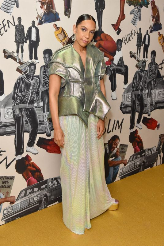 MELINA MATSOUKAS at Queen & Slim Premiere in London 01/28/2020