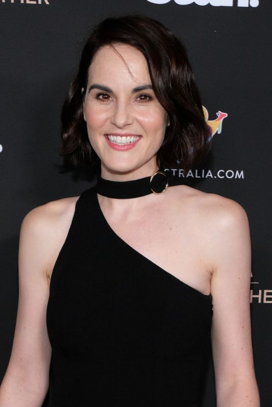 MICHELLE DOCKERY at G'Day USA 2020 in Beverly Hills 01/25/2020