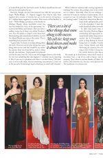 MICHELLE DOCKERY in Tatle Magazine, UK February 2020