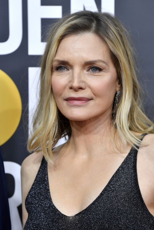 MICHELLE PFEIFFER at 77th Annual Golden Globe Awards in Beverly Hills 01/05/2020