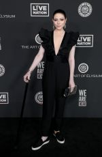MICHELLE TRACHTENBERG at Art of Elysium Presents We Are Hear