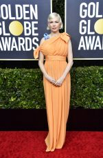 MICHELLE WILLIAMS at 77th Annual Golden Globe Awards in Beverly Hills 01/05/2020
