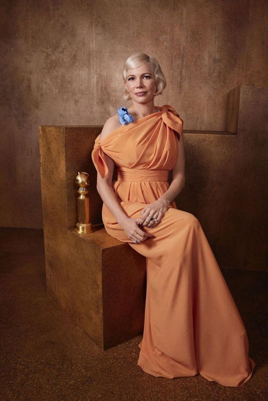 MICHELLE WILLIAMS - Golden Globes 2020 Official Portrait