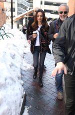 MILA KUNIS Out at Sundance Film Festival in Park City 01/25/2020