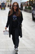 MILEENE KLASS Leaves Smooth Radio in London 01/04/2020