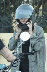 MILEY CYRUS and Cody Simpson Out in Calabasas 01/23/2020