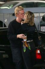 MILY CYRUS and Cody Simpson Leaves Cedar Sinai Hospital in Los Angeles 01/16/2020