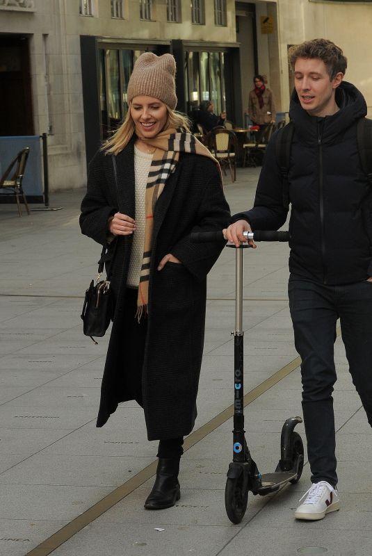 MOLLIE KING and Matt Edmondson Leaves BBC Radio in London 01/04/2020