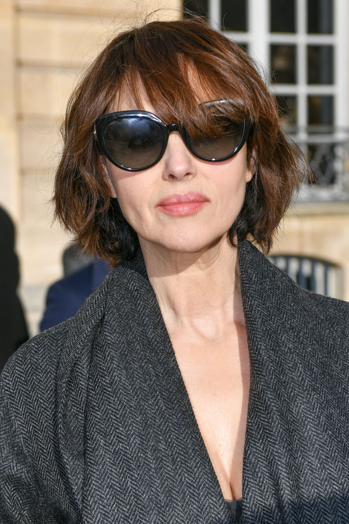 Monica Bellucci Looks Ageless With New Short Hairstyle at
