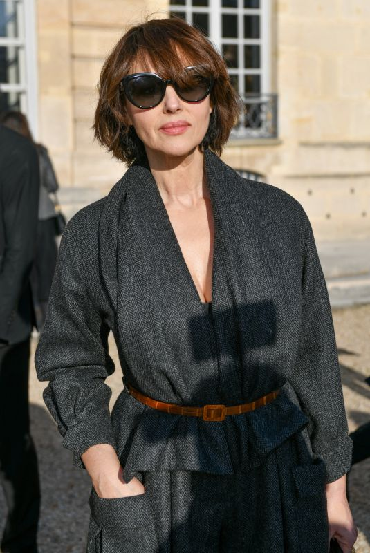 MONICA BELLUCCI at Dior Haute Couture Spring/Summer 2020 Show at Paris Fashion Week 01/20/2020