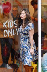 MYLEENE KLASS on the Set Kids Cafe Advert in Notting Hill 01/23/2020