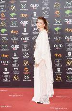 NAJWA NIMRI at 34th Goya Cinema Awards 2020 in Madrid 01/25/2020