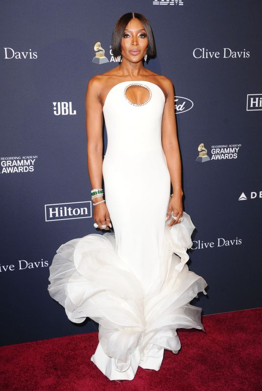 NAOMI CAMPBELL at Recording Academy and Clive Davis Pre-Grammy Gala in Beverly Hills 01/25/2020
