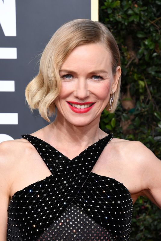 NAOMI WATTS at 77th Annual Golden Globe Awards in Beverly Hills 01/05/2020