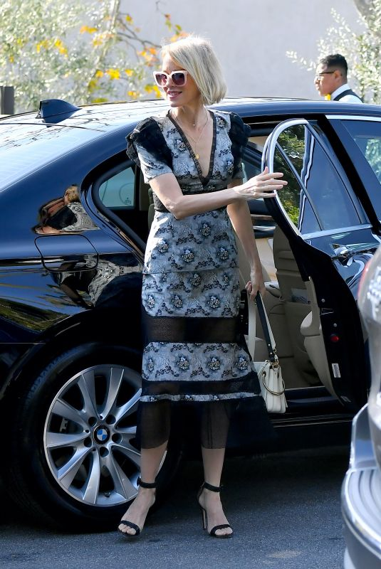 NAOMI WATTS Out and About in Beverly Hills 01/04/2020