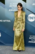 NATALIA DYER at 26th Annual Screen Actors Guild Awards in Los Angeles 01/19/2020