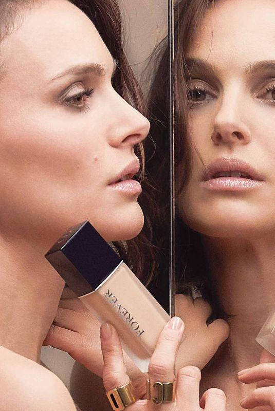 NATALIE PORTMAN for Dior Fforever Campaign, 2020